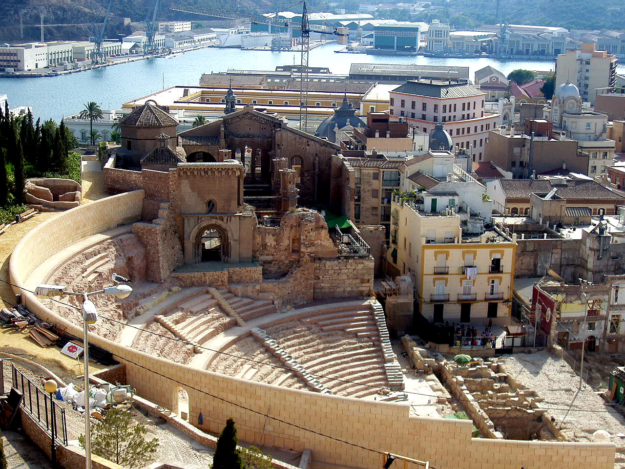 """Cartagena Spain  city images : de enero, su II Semana Cultural: """"Patrimonio Histórico de Cartagena ..."""