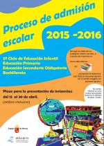 proceso admision 15-16